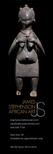 James Stephenson African Art in Tribal Art magazine